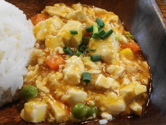 ロッディー 豆腐とひき肉炒め