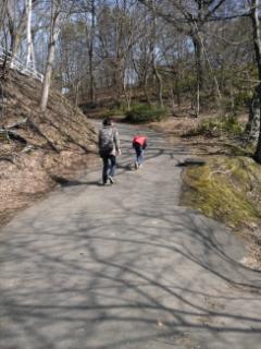 月寒公園(散歩)