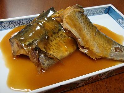 110424鯖の味噌煮