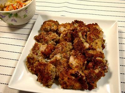 121123鶏モモ肉のパン粉焼き (2)
