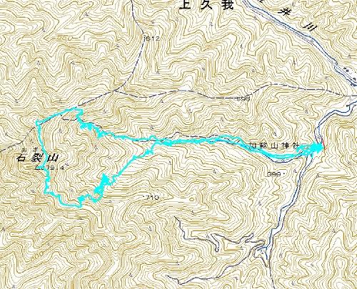 101123石裂山