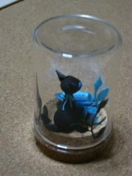 ポヲさん黒猫バック