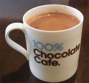 100%チョコレートカフェ1