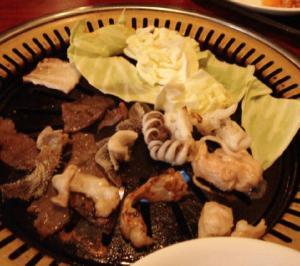 天山料理焼き4
