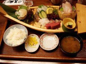 小魚天ぷら 大釜戸めし 天風10