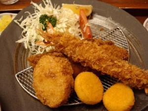 小魚天ぷら 大釜戸めし 天風04