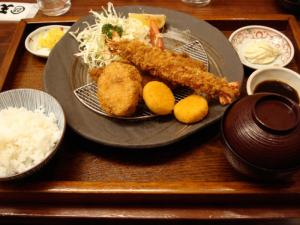 小魚天ぷら 大釜戸めし 天風03
