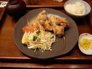 小魚天ぷら 大釜戸めし 天風97