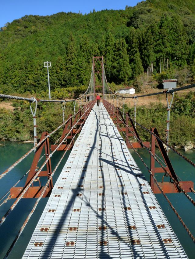 赤木の吊橋1