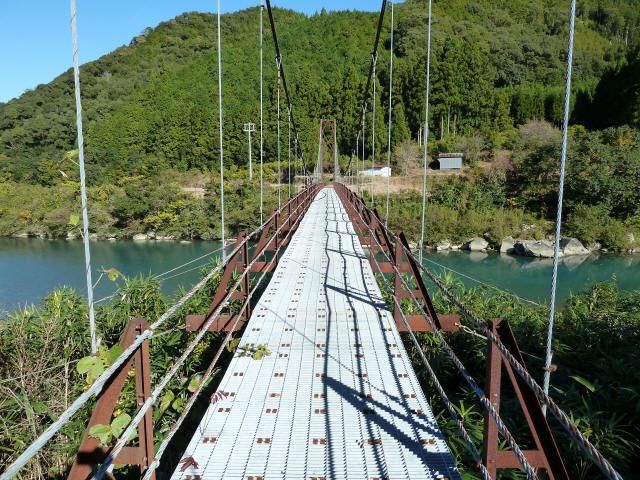 赤木の吊橋4