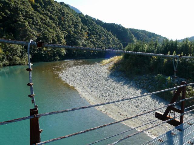 赤木の吊橋6