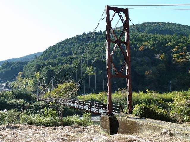 赤木の吊橋7