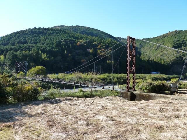 赤木の吊橋8