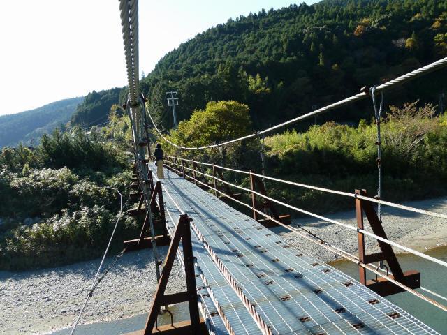 赤木の吊橋9