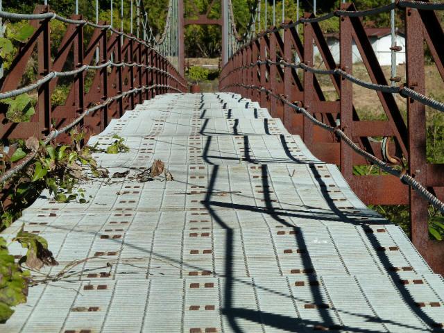 赤木の吊橋10
