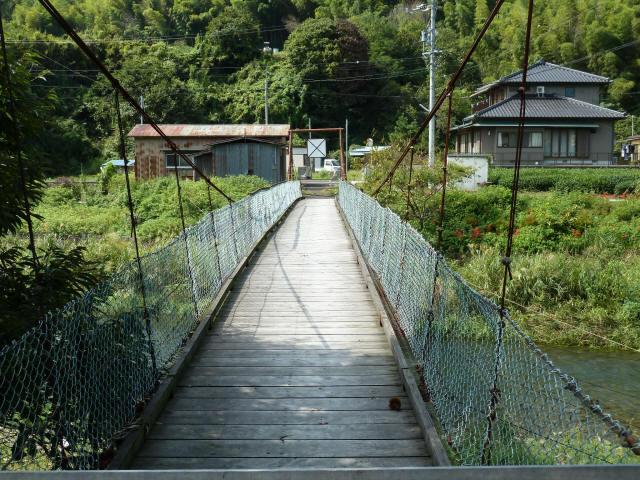 新舟の吊橋8