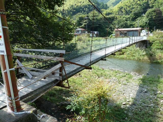 新舟の吊橋7