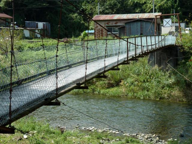新舟の吊橋6