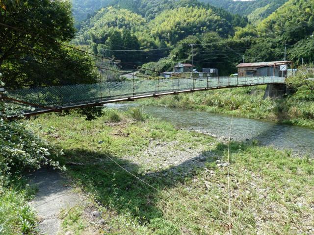新舟の吊橋5