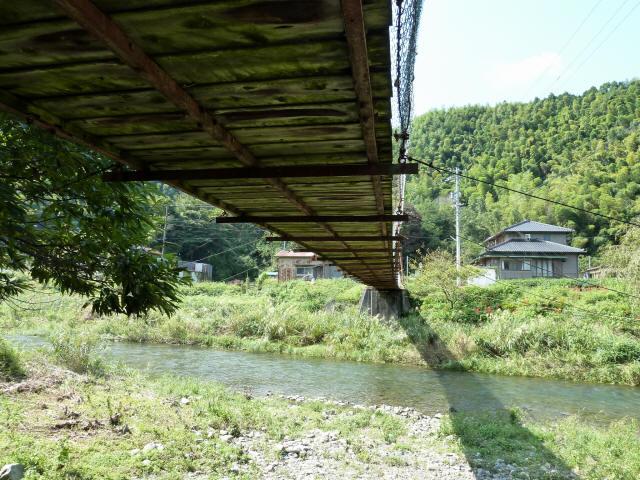 新舟の吊橋4
