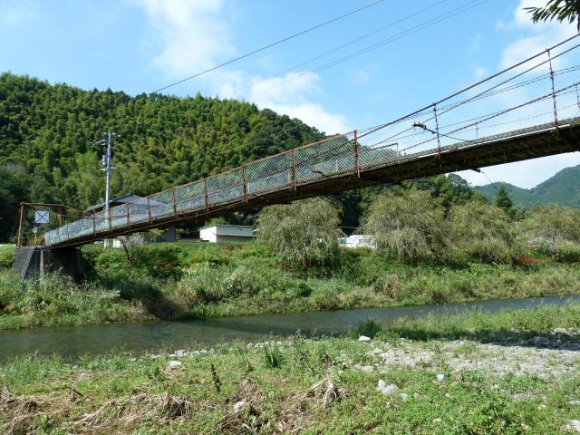 新舟の吊橋3