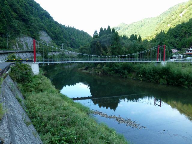 谷合の吊橋9