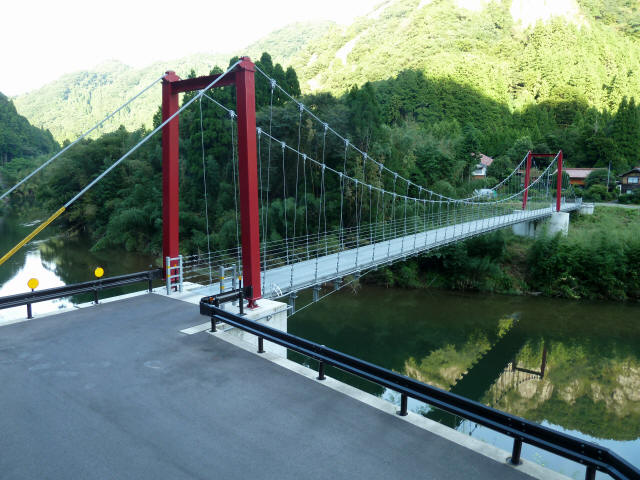 谷合の吊橋8