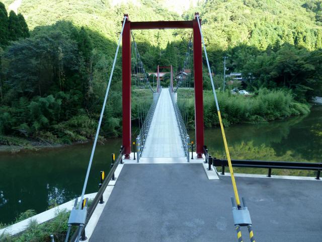 谷合の吊橋7