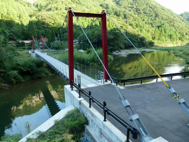 谷合の吊橋6