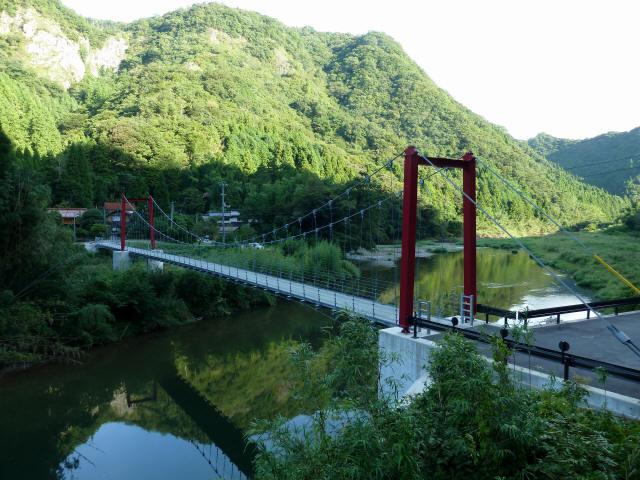 谷合の吊橋5