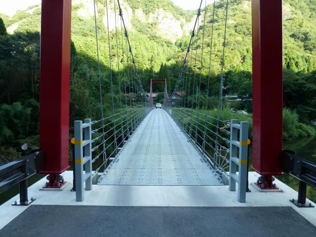谷合の吊橋4