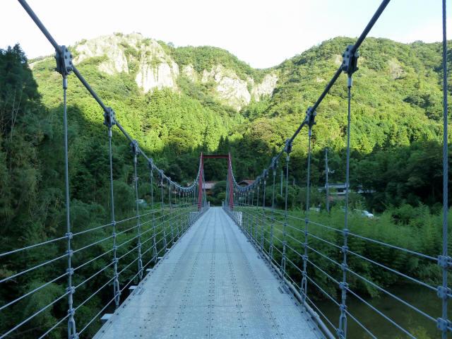 谷合の吊橋3