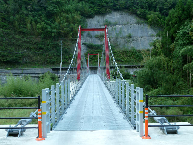 谷合の吊橋2