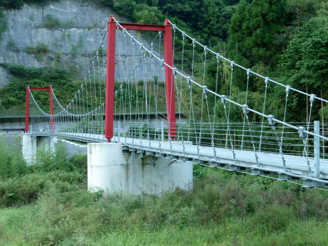 谷合の吊橋1