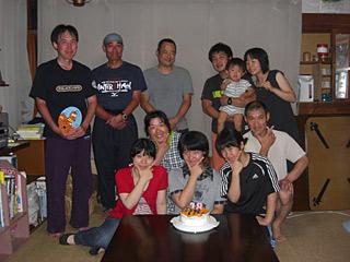 11 8/9 友誕生日 集合写真