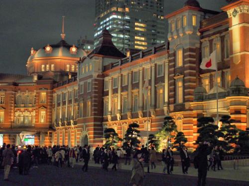 リニューアルした東京駅