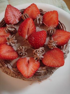 いちごチョコケーキ