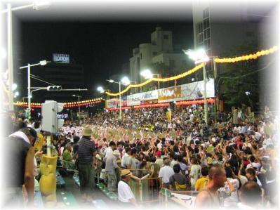 2011年8月15日阿波踊りフィナーレ