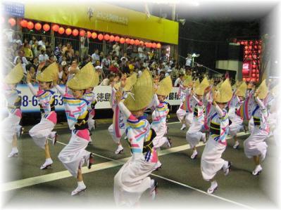 2011年8月15日阿波踊り女踊り