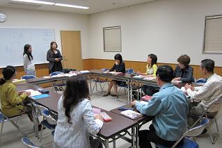 初級クラスも日本語がだんだん少なくなって・・・