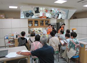 とても静かな料理教室となったようで・・・