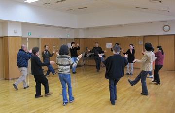田上りんりんも踊ってみました。