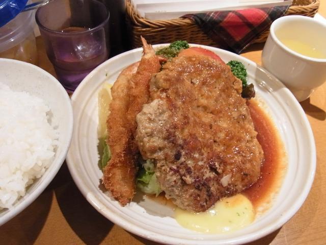 110227_洋食のもなみ_ハンバーグ_930円