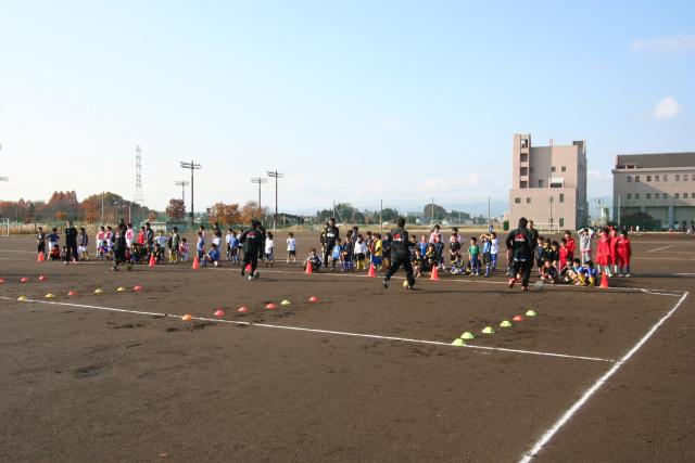 サッカー教室 (2)