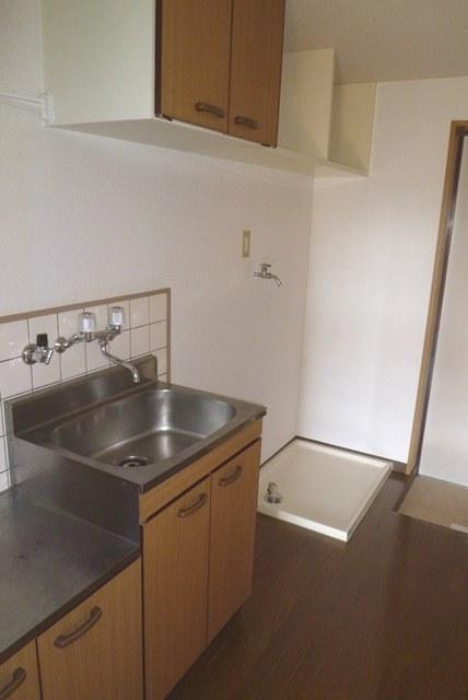鹿児島市下荒田2丁目の賃貸マンション、ロイヤルメゾン下荒田のキッチン