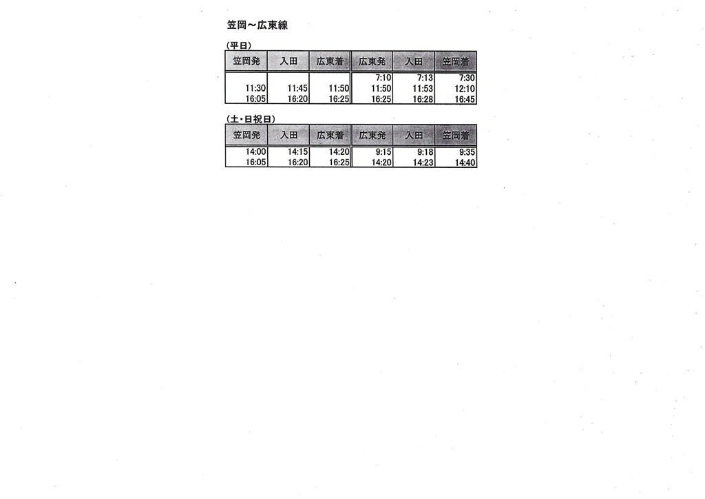 笠岡~広東線