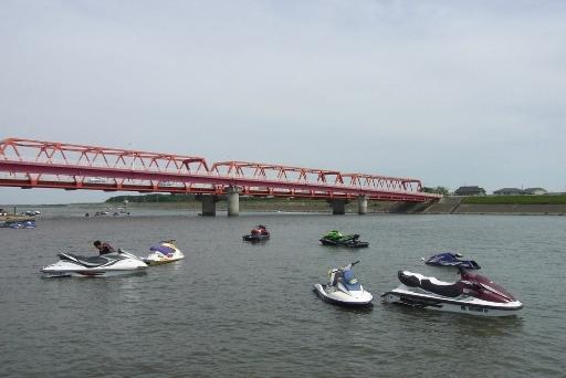 久慈川河口付近