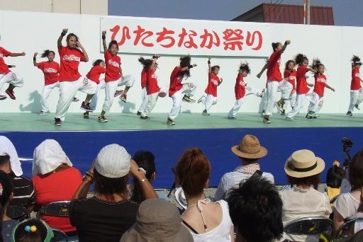 子供達のダンスコンテスト