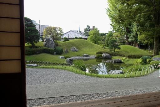 方丈からの南庭園