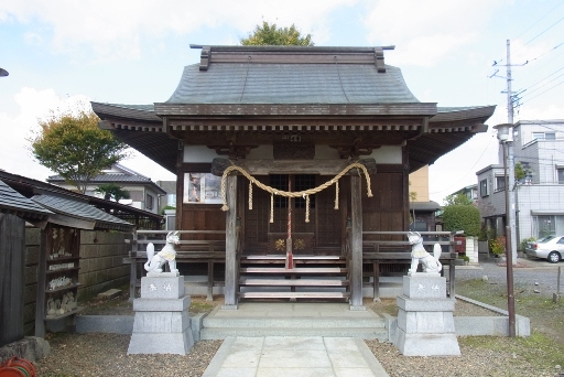 鈴ノ宮稲荷神社拝殿